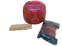 Аппарат для разогрева парафина и воска Баночный воскоплав Global Fashion Красный