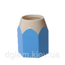 Подставка для ручек КАРАНДАШ пластик ZiBi