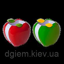 Подставка для ручек ЯБЛОЧКО пластик ZiBi