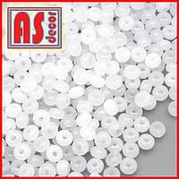 Бисер Чехия 02090  - 50 грамм (белый алебастр)