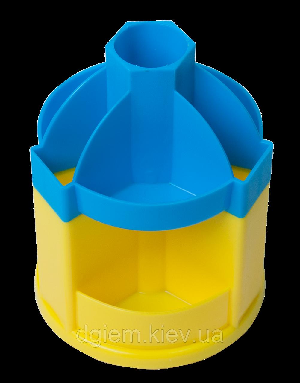 Подставка - вертушка канцелярская  UKRAINE