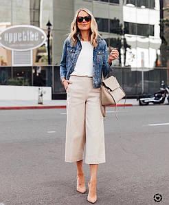 Пиджак из джинсовой ткани