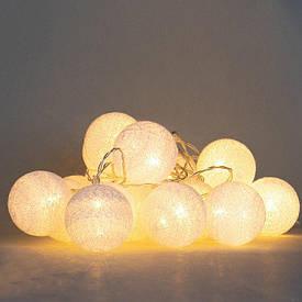 "Гирлянда ""Серебряные шарики-фонарики"" 20шт. 001NL-20S"
