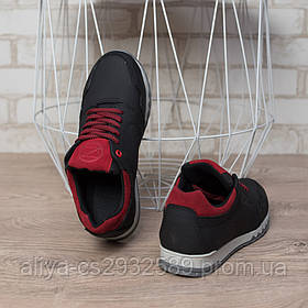 Кросівки підліткові SeZoN 55 Classic 558523 Black Red только 37, 39 размеры