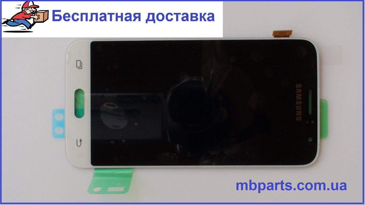 Дисплей с сенсором Samsung J120 Galaxy J1 White оригинал, GH97-18224A