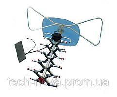 Антенна наружная VHF+UHF 24Дб 20 км с усилителем