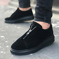 Мужские кроссовки Wagoon 07 Suede Black, фото 1