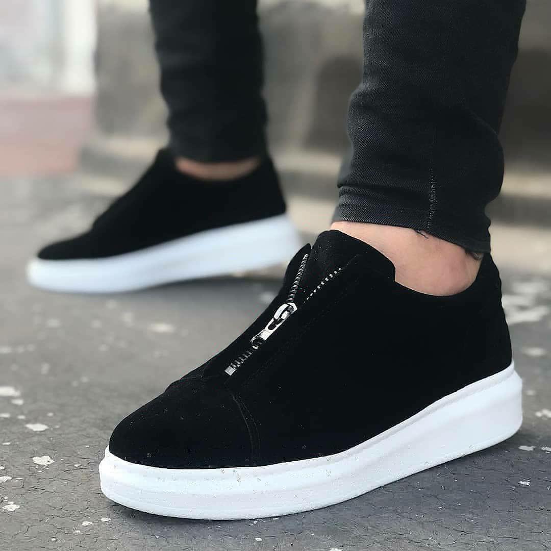 Мужские кроссовки Wagoon 02 Suede Black/White