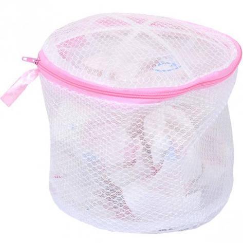 Мешок-сетка для стирки бюстгальтера, 17см, D15 см, фото 2