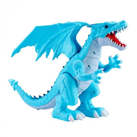 Интерактивная игрушка Robo Alive - Снежный дракон (7115B)