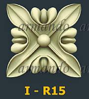 Деревянная Резная Розетка  I - R15