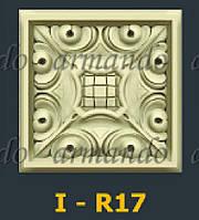 Деревянная Резная Розетка  I - R17