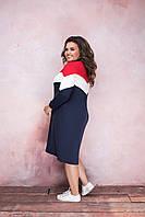 Платье-туника в расцветках 37254, фото 1