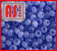 Бисер Чехия 02131  - 50 грамм (сапфировый светлый алебастр)