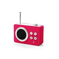 Радиоприемник Яркие впечатления (AM/FM - MP3), розовый