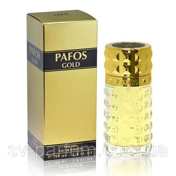 Туалетная вода мужская Pafos Gold 100ml