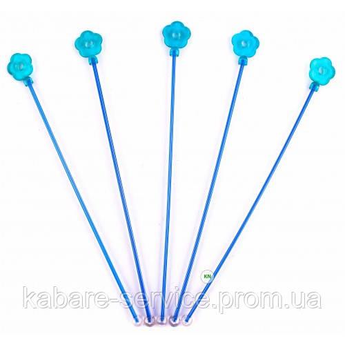 "Мешалка ""Цветок"" (синий) 28 см 20 шт"