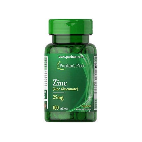 Цинк Zinc Puritans Pride 50 mg 100 caps