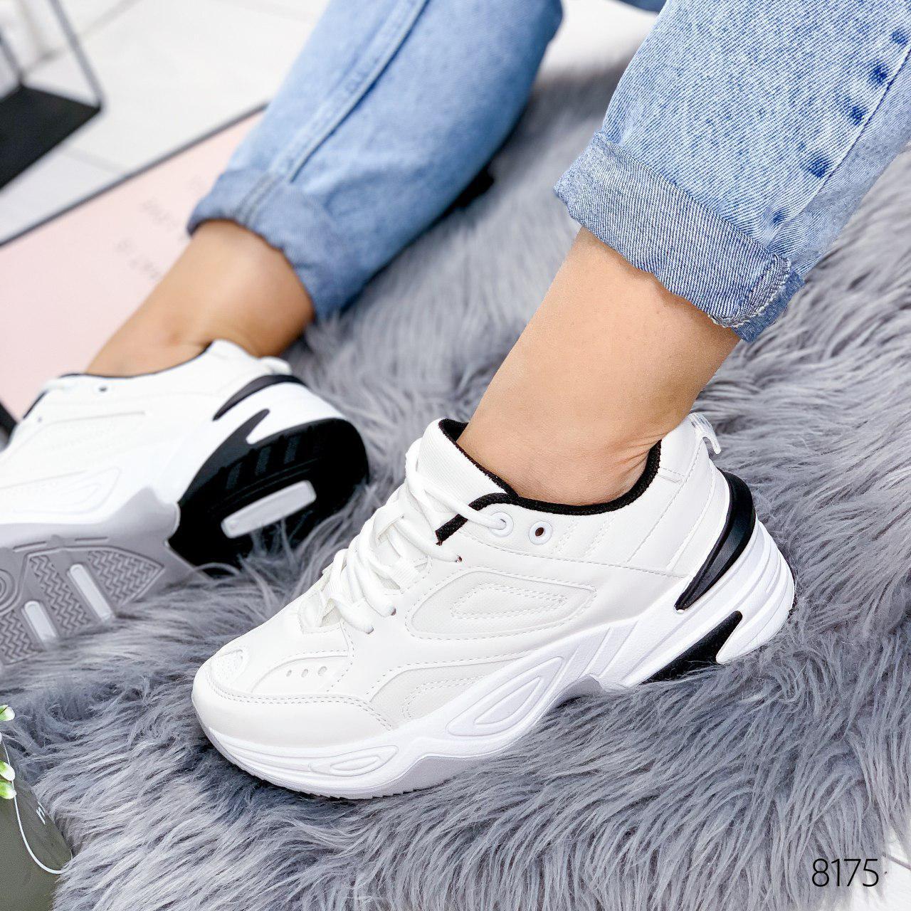 """Кросівки жіночі """"Lakes"""" білого кольору з еко шкіри. Кеди жіночі. Мокасини жіночі. Взуття жіноче"""