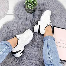 """Кросівки жіночі """"Lakes"""" білого кольору з еко шкіри. Кеди жіночі. Мокасини жіночі. Взуття жіноче, фото 3"""