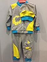 Велюровый костюм для мальчика с мышкой, фото 1