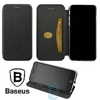 Чехол-книжка Baseus Premium Edge Apple iPhone 7 Plus, 8 Plus черный