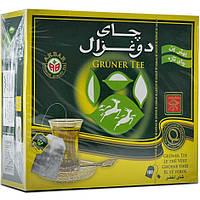 Чай зелёный цейлонский пакетированный Akbar 100 пакетов