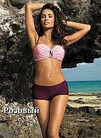 Женский купальник с шортиками Tiffany 319 от TM Marko Цвет розовый