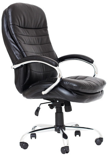 Кресло компьютерное Валенсия В (к/з Черный)