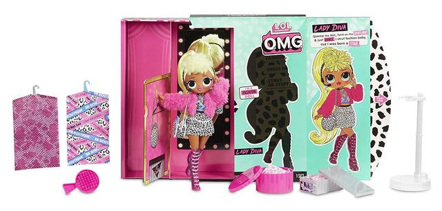 Кукла L.O.L. Surprise! O.M.G. Lady Diva Fashion Doll with 20 Surprises