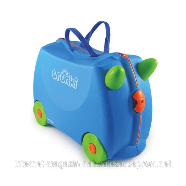 Детский чемодан Trunki Terrance Транки голубой
