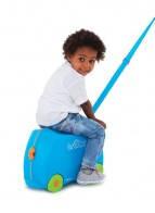 Детский чемодан Trunki Terrance Транки голубой, фото 3