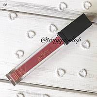 Матова рідка помада Aden Cosmetics Liquid Lipstick 06 шоколад