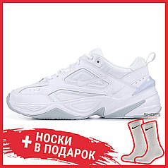 Мужские кроссовки Nike M2K Tekno Triple White AV4789-101, Найк М2К Текно