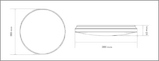 Светодиодный светильник Global Smart 40Вт, фото 2
