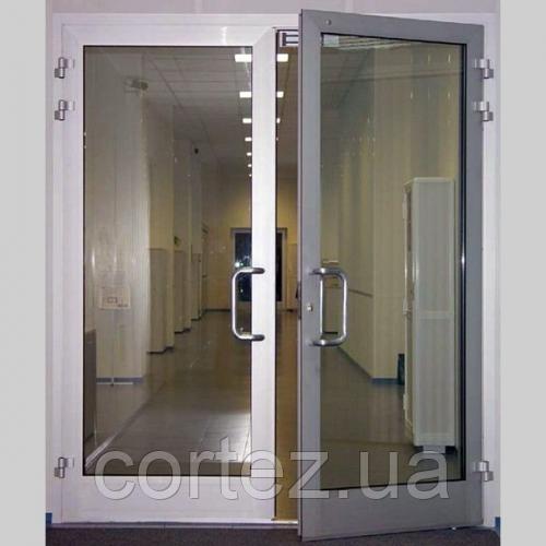 Алюминиевые противопожарные сертифицированные двери EI30/EI60