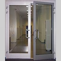 Алюминиевые противопожарные сертифицированные двери