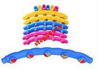 Обруч массажный Хула-Хуп с мягкими шариками