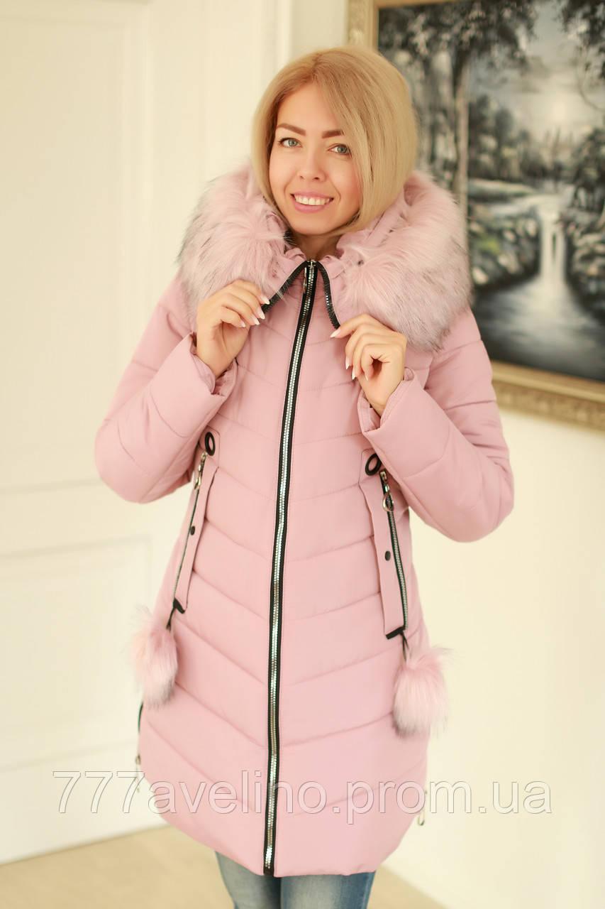 Женская куртка зимняя модная