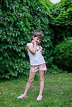 Детские шорты для девочки UBS2 Испания 1837 Белый