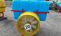 Обприскувач садовий вентиляторний навісний 800 л, фото 3