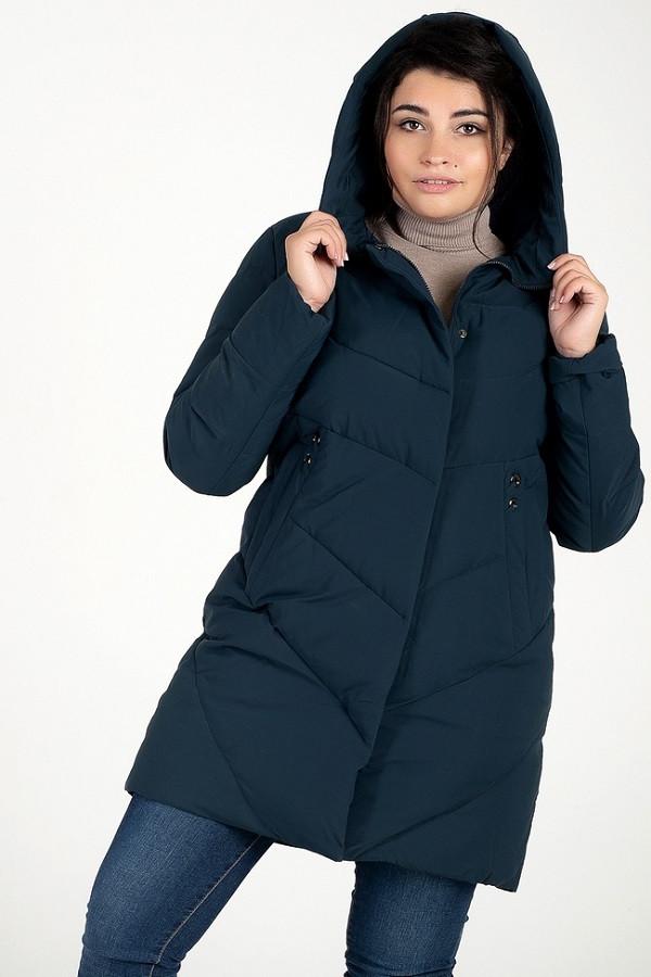 Женская куртка Кива зеленый (48-58)