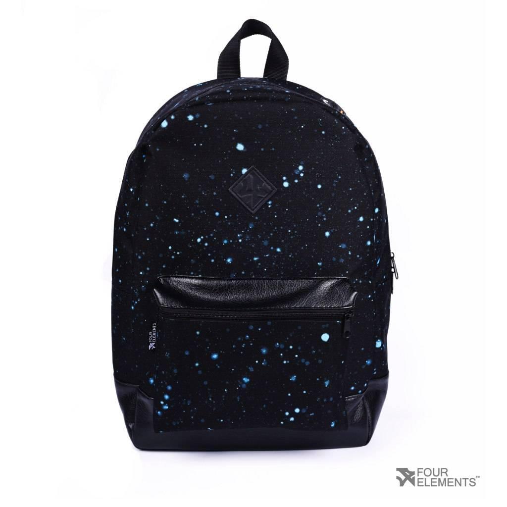 Рюкзак Городской 4Elements, Черный, Молодежный для ноутбука, учебы, спорта Взрослый (подростковый)