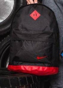 Спортивный рюкзак  Молодежный для ноутбука, учебы, Взрослый (подростковый черный с оранжевый, фото 2
