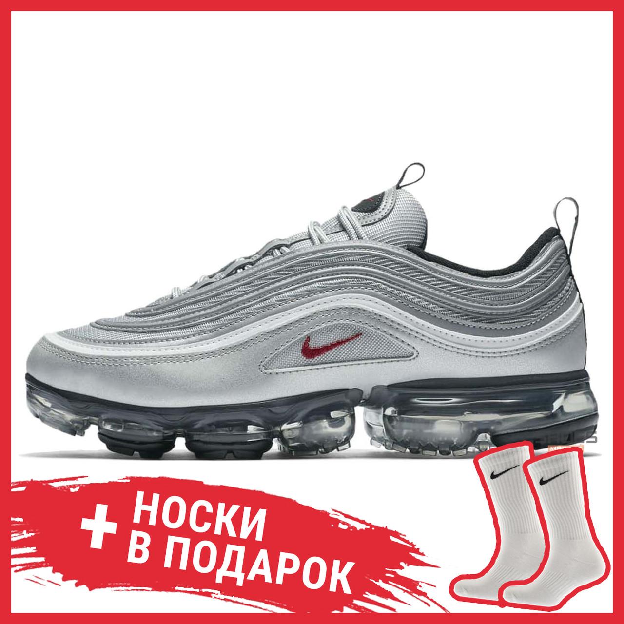 quality design 13eb1 13213 Мужские кроссовки Nike Air VaporMax 97 Silver Bullet AJ7291-002 купить в  интернет-магазине обуви Shoes Market - цена, отзывы, фото. Киев, Украина.