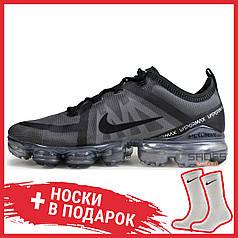 "Мужские кроссовки Nike Air VaporMax 2019 ""Triple Black"" AR6631-004"