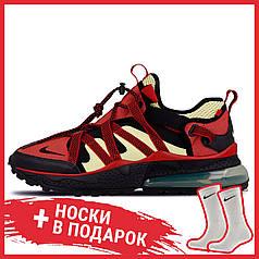 Мужские кроссовки Nike Air Max 270 Bowfin Red Black AJ7200-003, Найк Аир Макс 270