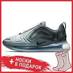 Мужские кроссовки Nike Air Max 720 Carbon Grey AO2924-002, Найк Аир Макс 720