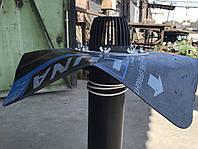 Покрівельна воронка з бітумним фартухом з притискним н/ж фланцем і підігрівом ДУ 110 L-600мм