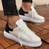Чоловічі кросівки Chekich CH256 White/Black, фото 1